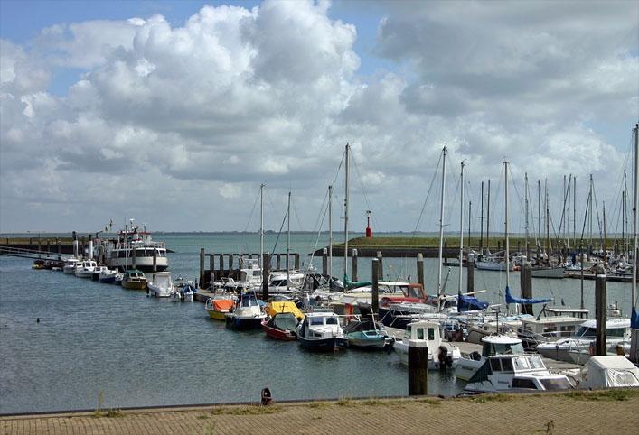 Hafen in Schouwen-Duiveland, Zeeland