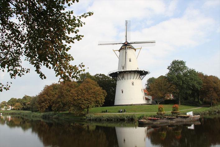 Windmühle, Zeeland