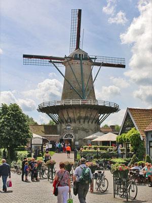 Windmühle in Zeeuws Vlaanderen